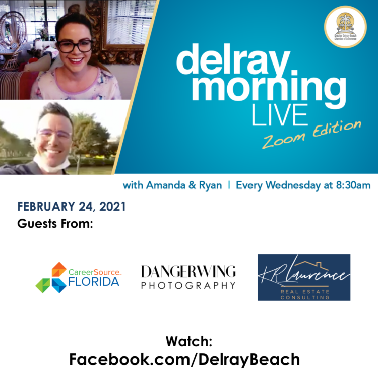 Karen Laurence Interview with Delray Morning Live (Zoom Edition)